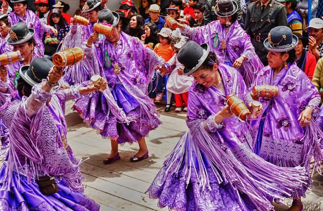 fiesta de la Candelaria danzas disfraces
