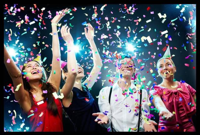 una fiesta memorable año nuevo