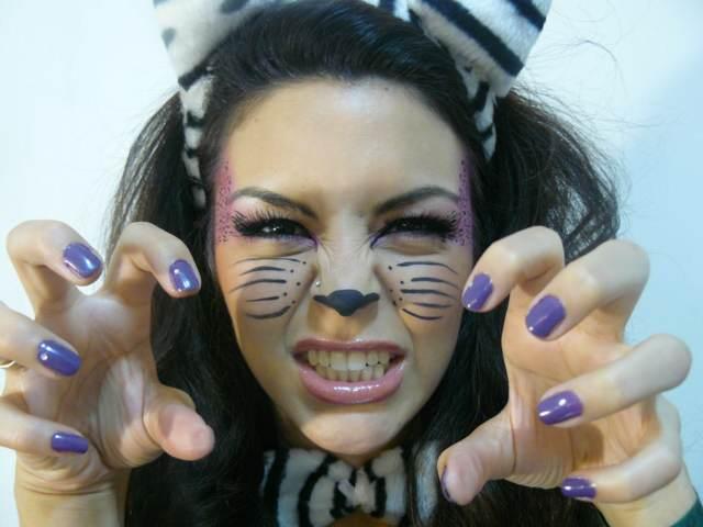 fiesta temáica idea disfraz maquillaje originales