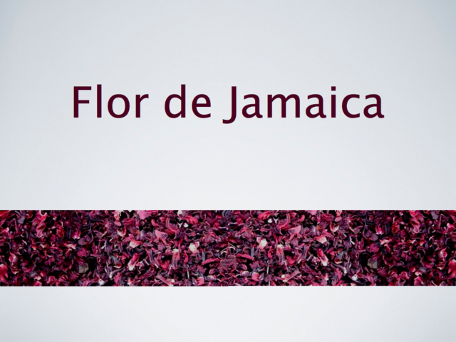 flor de Jamaica agua saludable