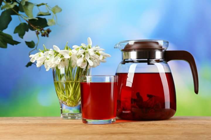 flor de Jamaica bebida saludable información