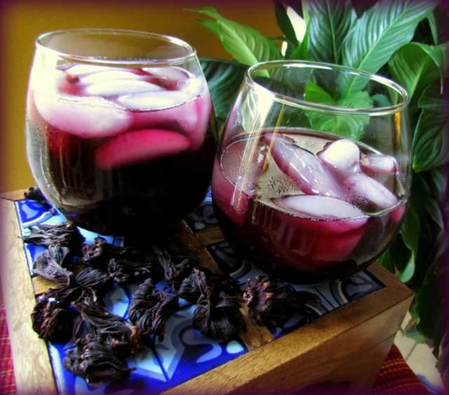 agua fresca bebida saludable flor Jamaica beneficios