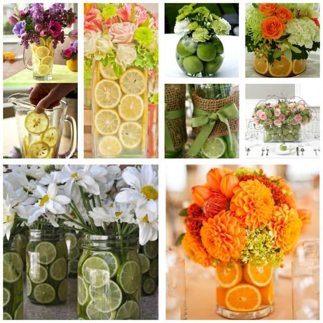 flores decoración original hogar ideas