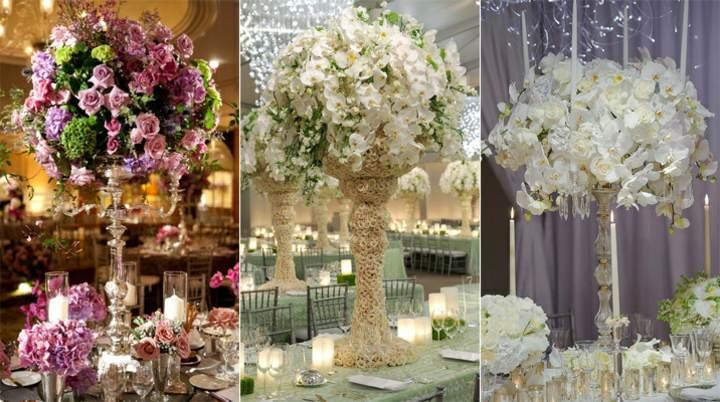 flores hermosas centros mesa maravillosos ideas magníficas eventos corporativos