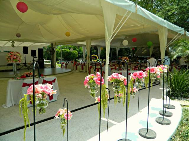 arreglos florales ideas decoración fiestas corporativas