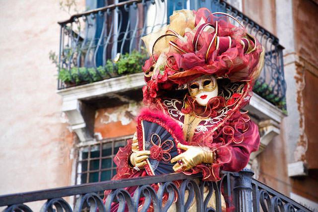 foto precioso carnaval de Venecia