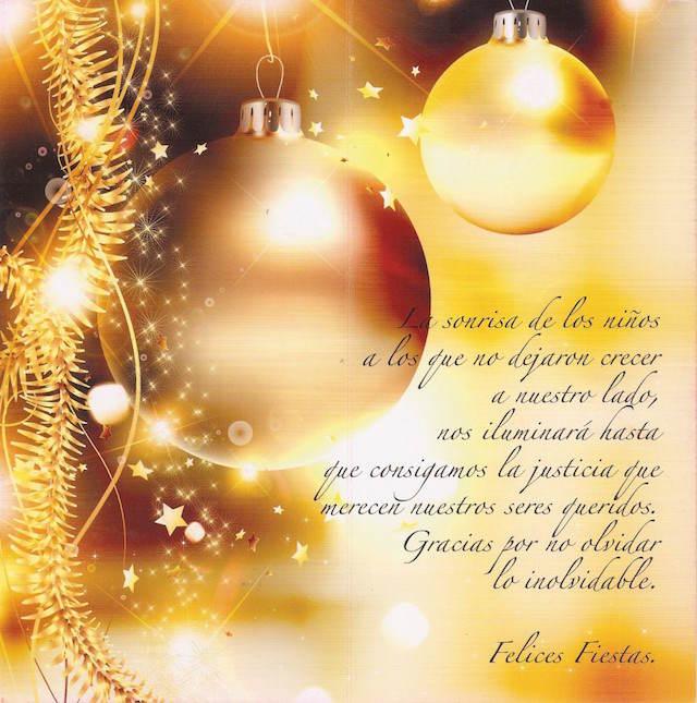 frases de Año Nuevo Felices fiestas sonrisa