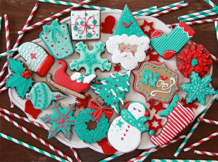 galletas Navidad una decoración maravillosa
