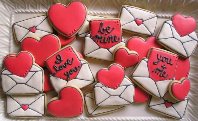 galletas decoración temática día San Valentín