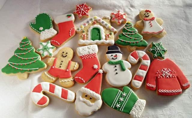 las galletas decoradas Navidad
