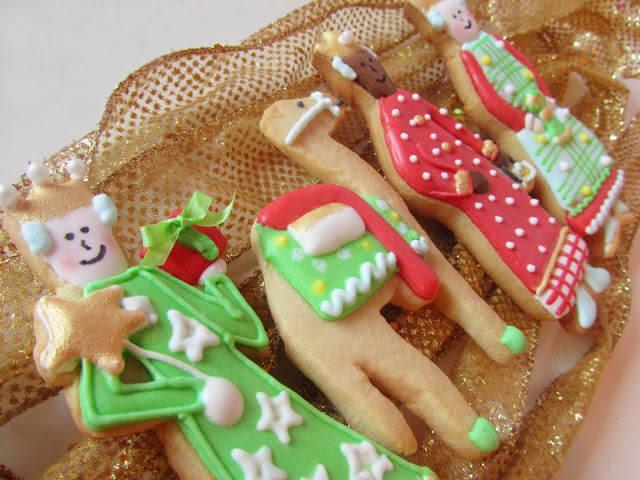 galletas decoradas temáticas Reyes Magos camello