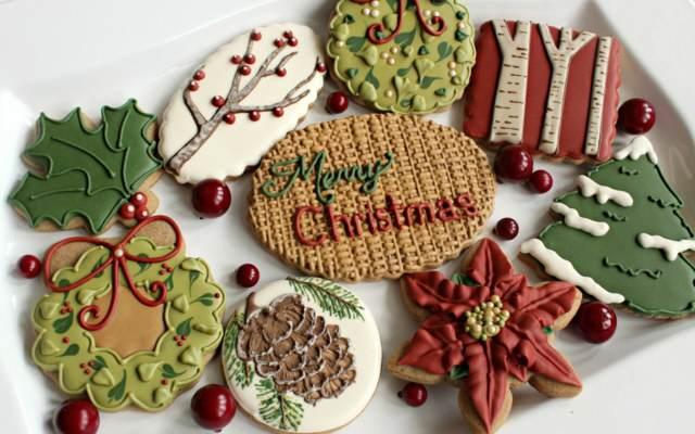las galletas maravillosas Navidad