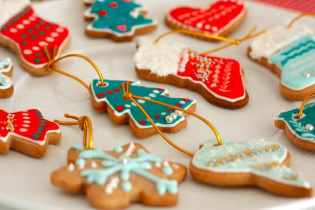 galletas navideñas formas diferentes