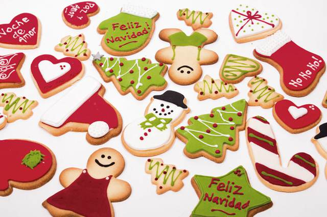 galletas navideñas una decoración maravillosa