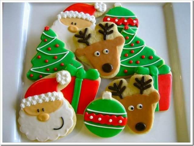 galleta interesantes decoradas Navidad