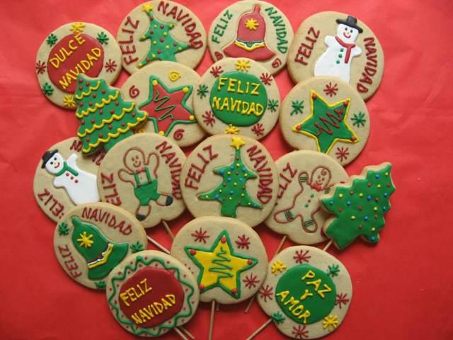 galletas de Navidad unas formas diferentes temáticas