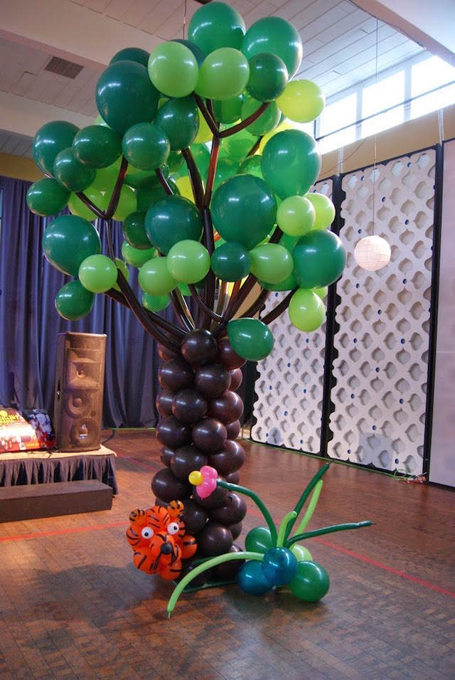 globoflexia preciosa árbol real decoración diferente