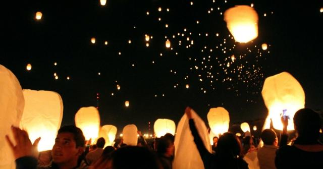 globos deseos atracción preciosa fiestas