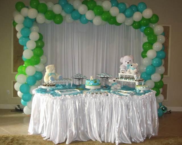 globos decoración temática baby shower