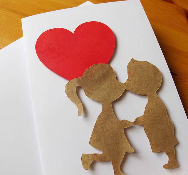 hacha a mano carta de amor preciosa
