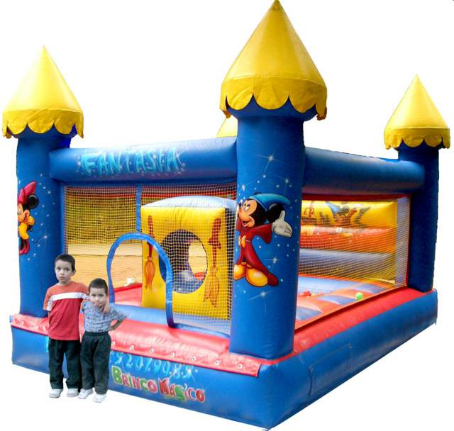 construcciones inflables interesantes niños