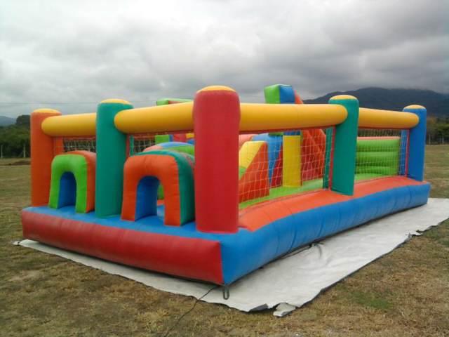 los juegos inflables aire libre