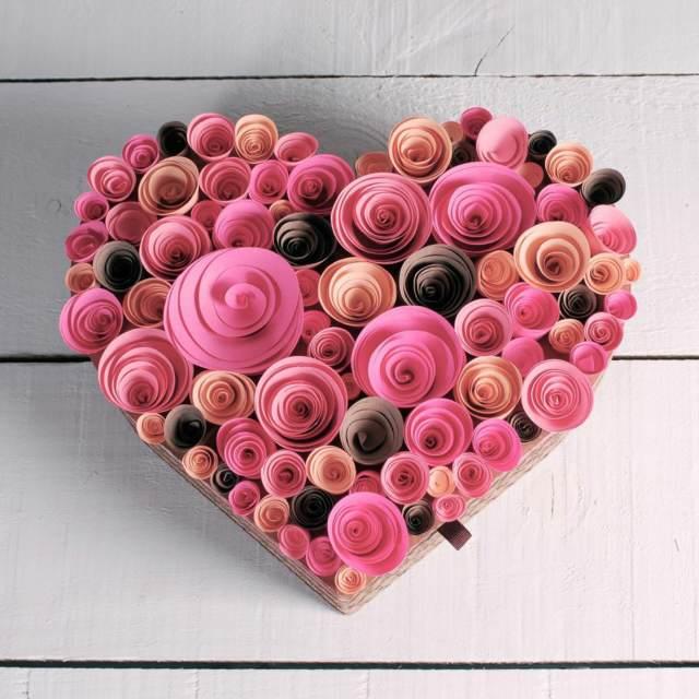 manualidades para regalar accesorio forma corazón