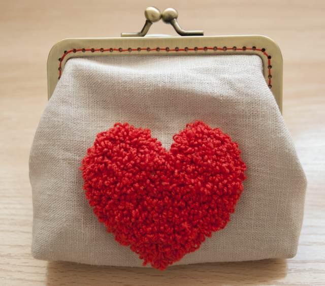 manualidades para regalar ideas maravillosas corazón rojo