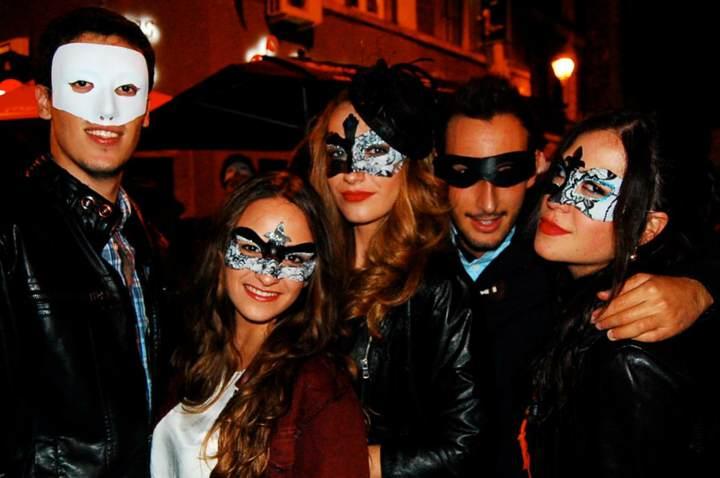 máscaras originales carnaval fiesta corporativa tématica