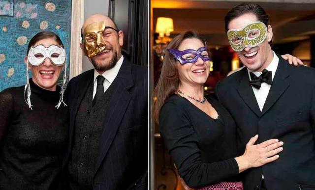 máscaras evento corporativo fiestas temáticas divertidas