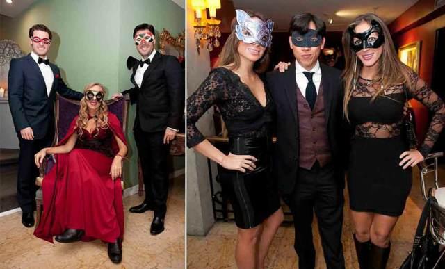 máscaras de carnaval fiesta evento corporativo temático
