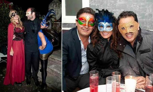 máscaras de carnaval fiestas temáticas modelos ideas diferentes
