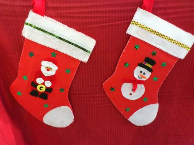 Navidad adornos los colores temáticos rojo blanco