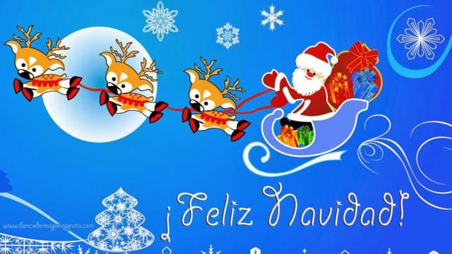 Navidad Santa Claus regalos preciosos