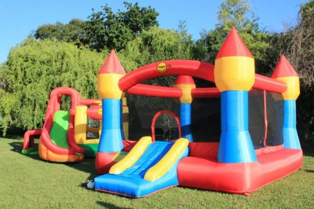 los juegos inflables al aire libre para nios