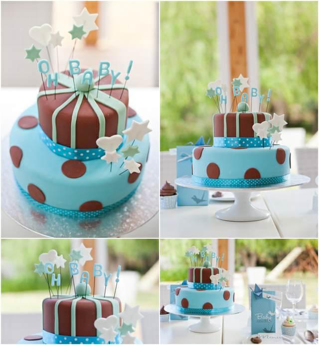 pastel decoración temática baby shower