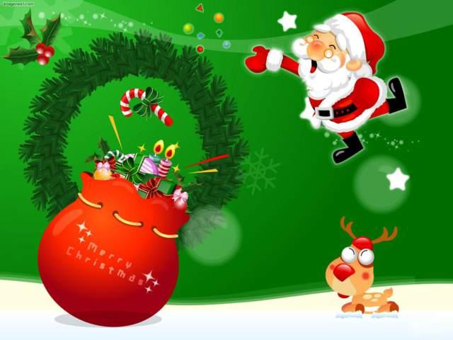 postales originales Feliz Navidad