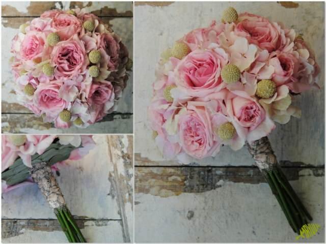 ramo novia rosas boda inolvidable