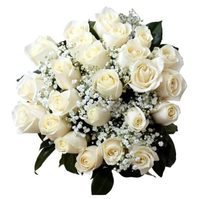 ramo rosas blancas boda maravillosa tendencias modernas
