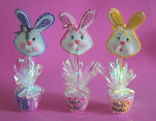 recuerdos pequeños cabeza conejo dulce bautizo