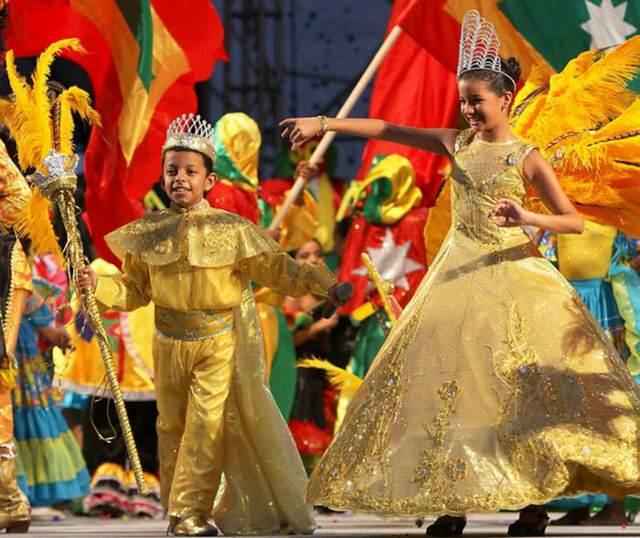 reyes infantiles carnaval de Barranquilla Colombia