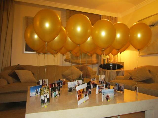 sorpresas de cumpleaños fiesta divertida fotos decoración