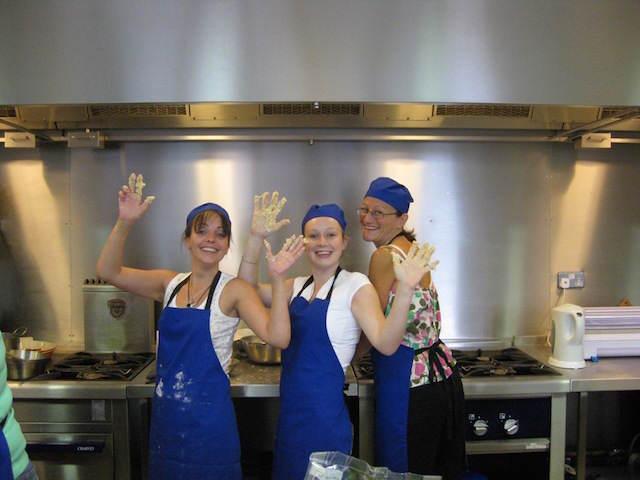 team building juego divertido cocinar