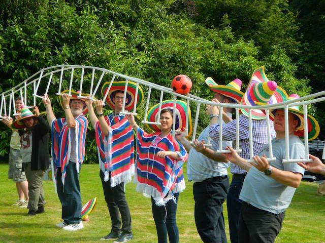 team building actividades tema relacionado Mexico