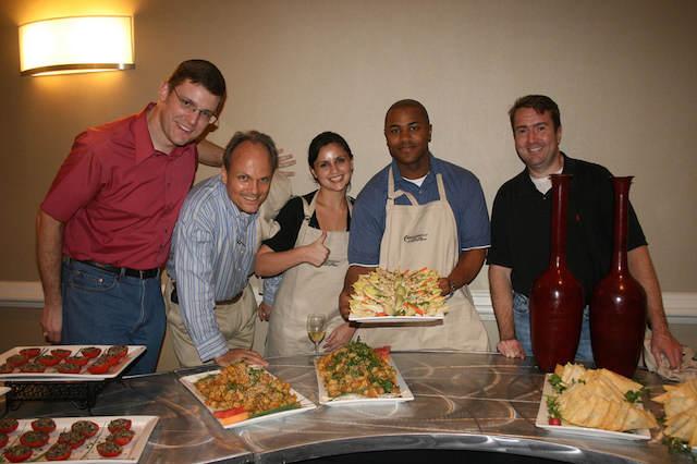 team building temático preparar comida mexicana