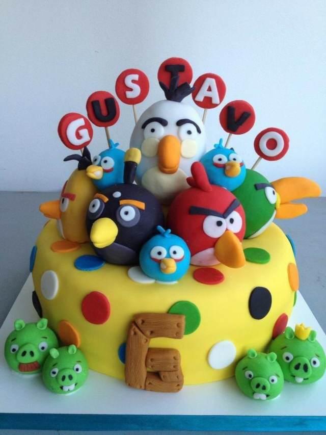tortas infantiles gelatina fiestas temáticas