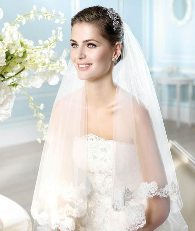 velos de novia largos modelos preciosos