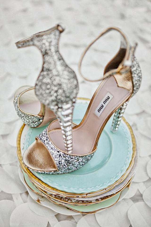 zapatos novia boda tendencias 2015