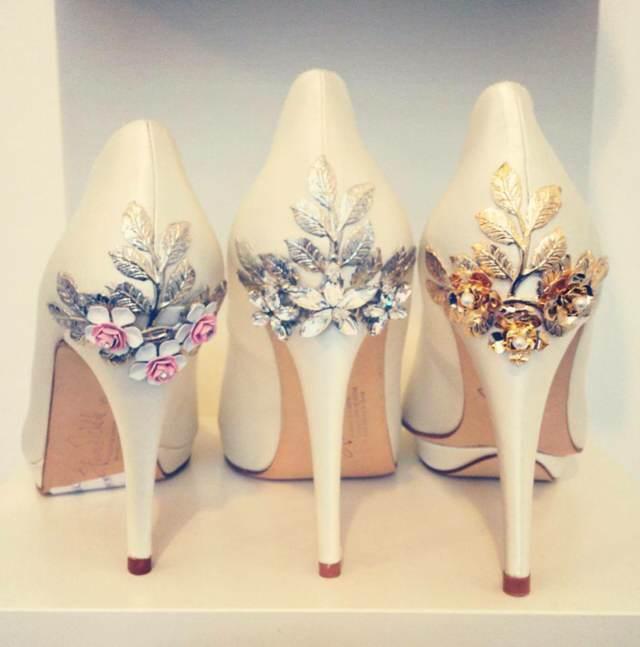 zapatos novia tendencias ideas nuevas 2015