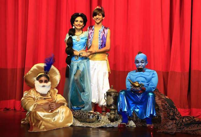 Aladín obras de teatro infantiles evento corporativo niños